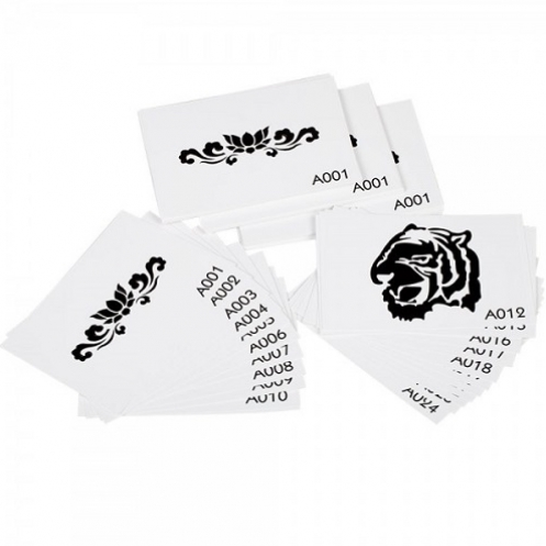 Tattoo stencil set