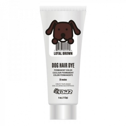 Dog hair dye Loyal brown